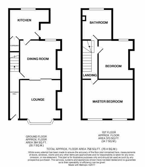 Floorplan of Severn Street, Hull, HU8 8TG