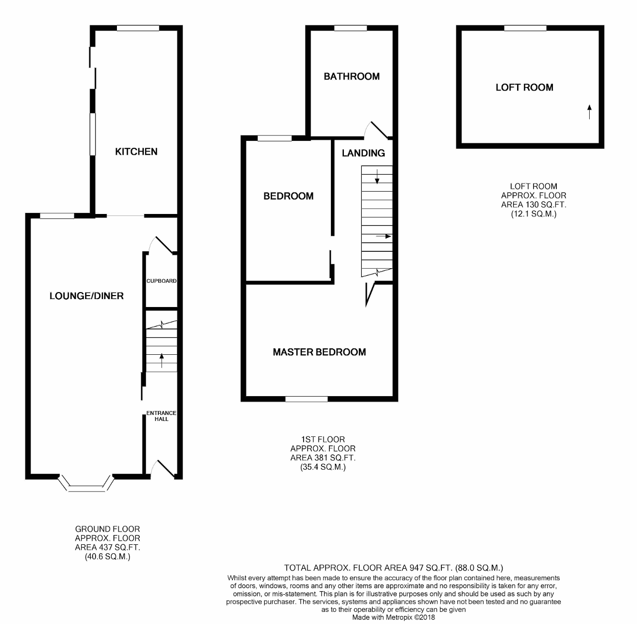 Floorplan of Newbridge Road, Hull, HU9 2NU