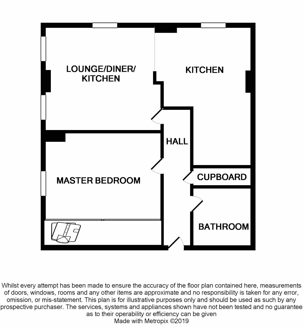 Floorplan of Lister Court, High Street, Hull, HU1 1NH